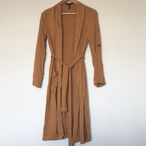 {forever 21} Brown Trench Coat